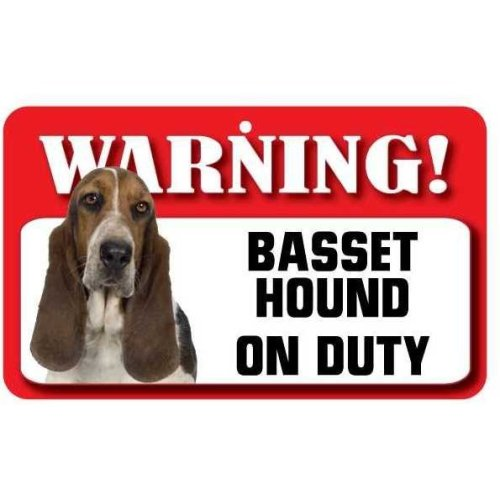 Basset Hound Pet Sign
