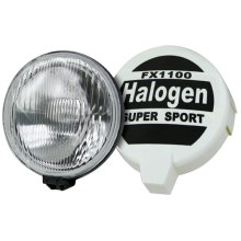 Large Pair Of Rally Round Halogen Spot Lights - Driving Swdl6 55w Lamps Car 4x4 -  rally spot halogen driving pair large round lights swdl6 55w lamps