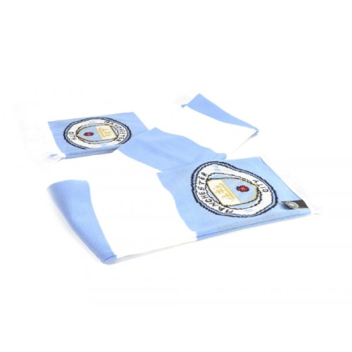 Manchester City FC Unisex Adults Bar Scarf