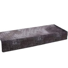 Window Sill Cushion, Anti-slip, Cotton, 70x180cm [Deep Gray]