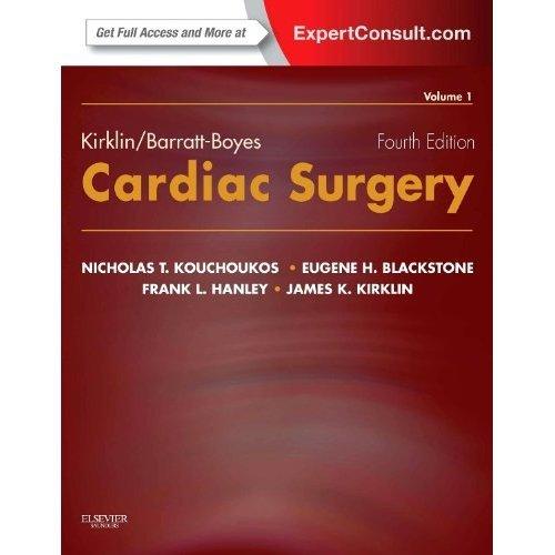 Kirklin/Barratt-Boyes Cardiac Surgery: Expert Consult - Online and Print (2-Volume Set), 4e