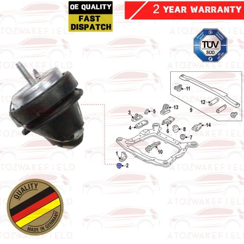 FOR VOLVO S60 S80 V70 XC70 XC90 FRONT CENTRE HYDRO ENGINE MOUNTING MOUNT 9161142