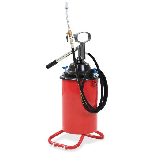 vidaXL Hand-Operated Grease Pump 25L Oil Injector Gun Fuel Supply Equipment