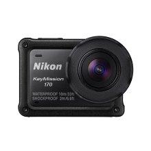 NIKON KeyMission 170 4K Ultra HD Action Camcorder Camera - Black