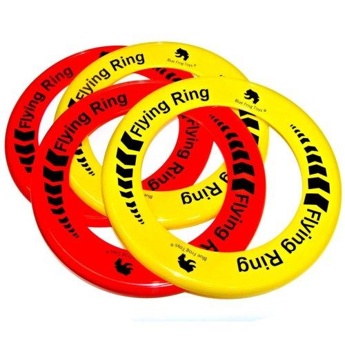 Pack of 24 Flying Rings - Fun Outdoor Summer Toys - Game Frisbee Type Toys