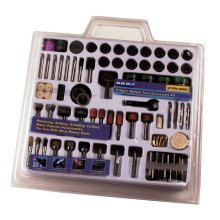 216 Piece Rotary Tool Accessory Set -  rotary 216 blue spot piece tool accessory set