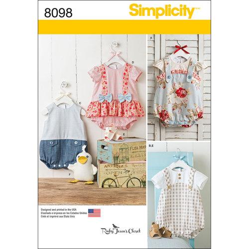 SIMPLICITY BABIES-XXS-XS-S-M-L