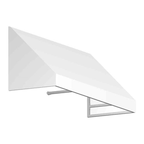 Awntech EN1836-US-8W 8.38 ft. New Yorker Window & Entry Awning, Off White - 18 x 36 in.