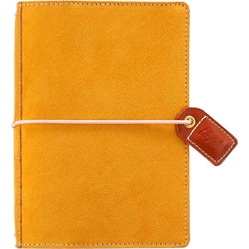 "Color Crush Pocket Traveler's Planner 4.25""X6""-Mustard Suede"
