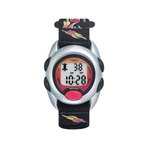 Timex 6518104 Sports Watch Boy Round Digital Nylon Water Resistant - Black
