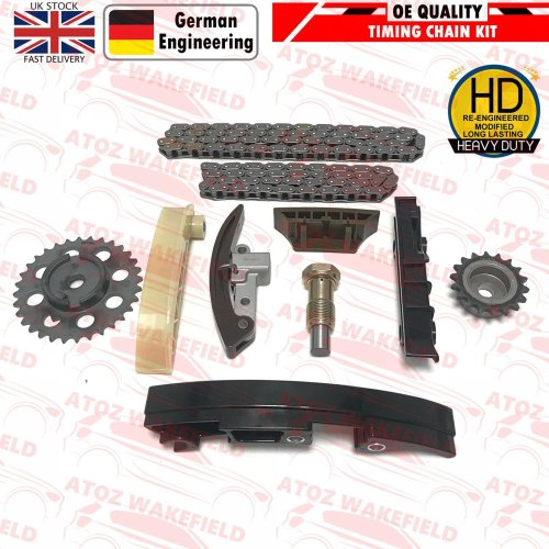 FOR AUDI A3 TT 3.2 V6 VR6 QUATTRO 250 BHP PETROL ENGINE TIMING CHAIN SERVICE KIT