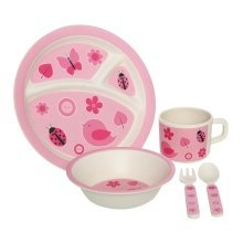 Eden 5Pc Bird Kids Dinner Set