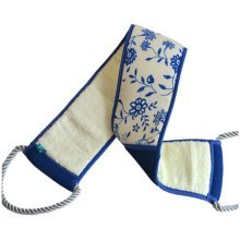 Retro Style Blue and White Flower Pattern Bath Supplier Washing Towel