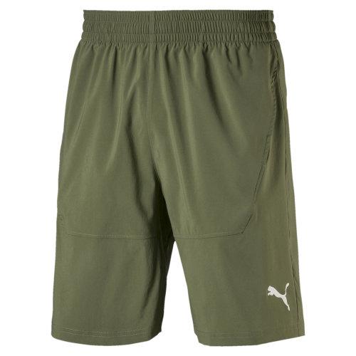 "Puma Energy Woven 9"" Mens Running Fitness Training Short Khaki"