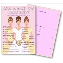 Hen Night Party Games - Who Knows the Bride Best