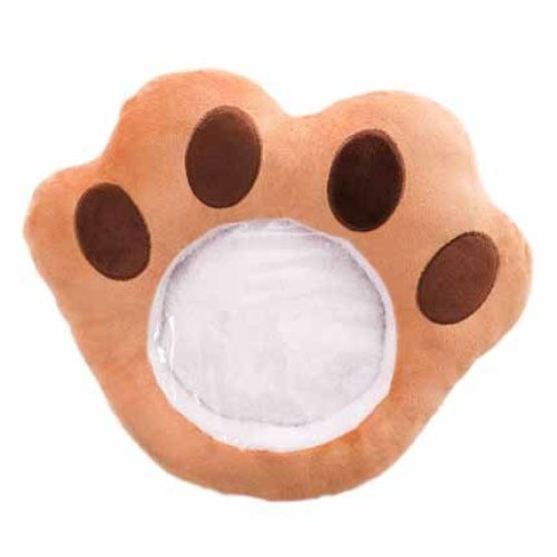 Multi-use Plush Glove Winter Phone Companion Washable Hand Warmer For Home And Office #Bear Paw