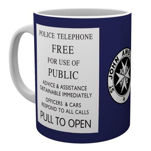 Doctor Who Tardis Sign Mug