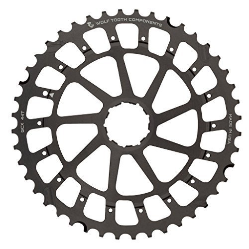 Wolf Tooth Components Giant Cog for SRAM XX1 X01 Black 44t