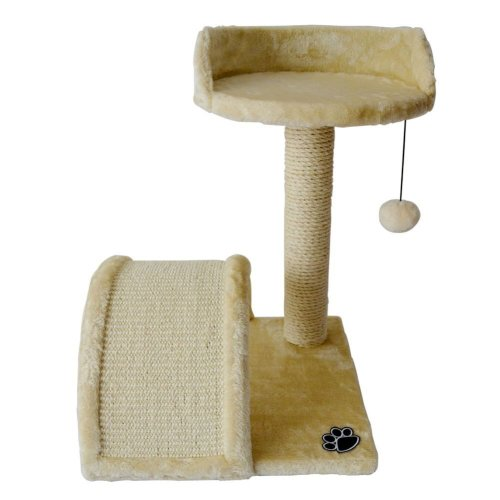 Honor Jojoba Cat Scratching Post Kitten Scratch Post with Bed Tower 52x 37x 37cm