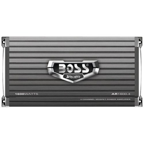 Boss Audio Systems AVA-AR1600.4 ARMOR 4-Channel 1600-Watt Mosfet Amplifier