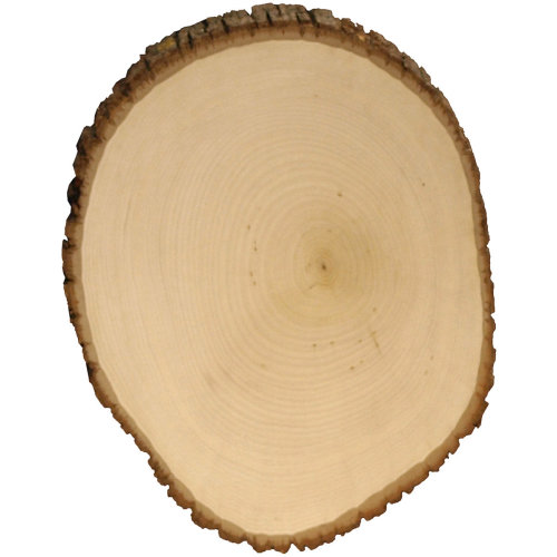 """Basswood Country Round Plaque-11"""" To 12"""" Wide"""