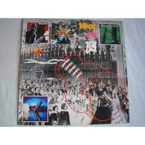 10cc Greatest Hits UK LP 1978 ex/ex-