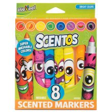 Scentos Funny Face Markers 8pk - Scented 8 Pack Pens Tobar Fruit Fruity -  markers scentos face funny scented 8 pack pens tobar fruit fruity