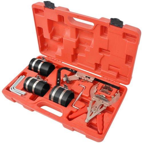 vidaXL 11 Piece Piston Ring Service Tool Set Compressor Expander Cleaning Kit