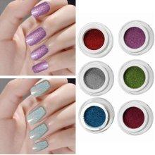 1Pc Holographic Nail Art Laser Powder Glitter Holo DIY Chrome Pigments 6 Colors