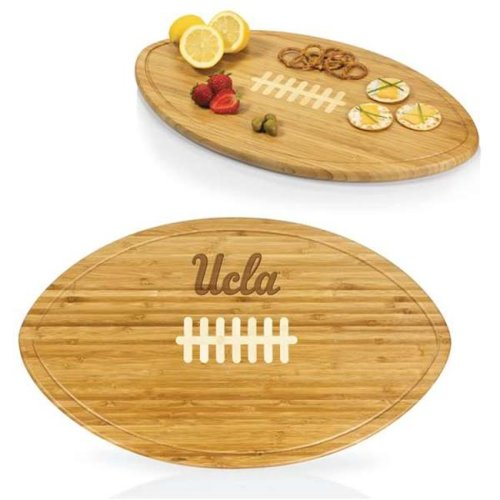 Picnic Time 908-00-505-083-0 UCLA Bruins Engraved Cutting Board Party Platter & Serving Tray, Natural