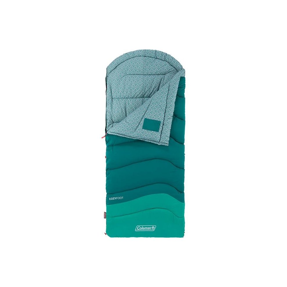 Coleman 110490 Cozyfoot 30 Degree Sleeping Bag