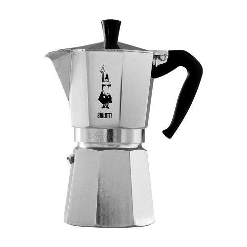 Bialetti Moka Express 9 Cup Stove Top Espresso Coffee Maker Aluminum 0.55L