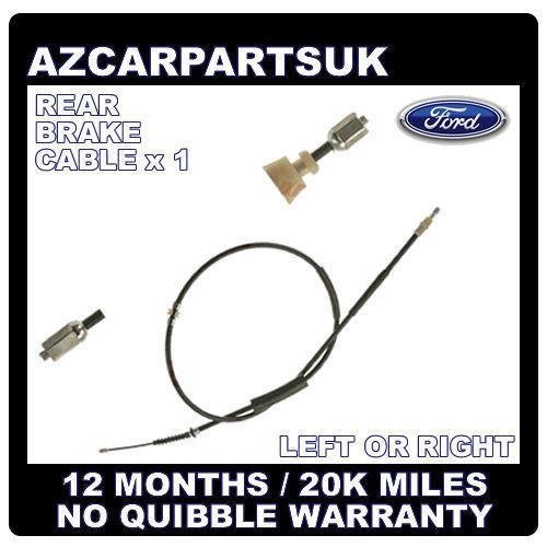 FORD MONDEO MK3 REAR HAND BRAKE CABLE CABLES x1 LEFT OR RIGHT HATCHBACK SALOON
