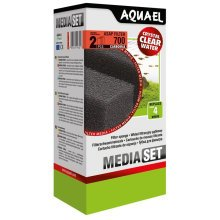 Aquael ASAP 700 Replacement Sponge with Carbomax x2