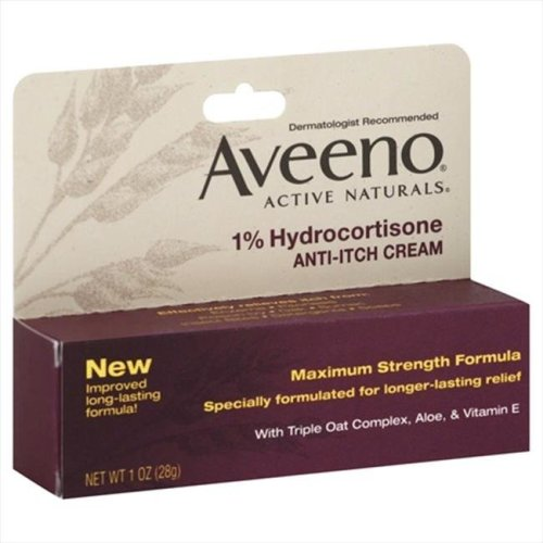 Aveeno Hydrocortisone Anti, Itch Cream, 1 Oz.