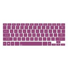 Modern Stylish PURPLE Keyboard Stickers / Decals For MacBook (Pro 15 Inch)