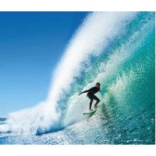 wall mural surfer blue - 158852