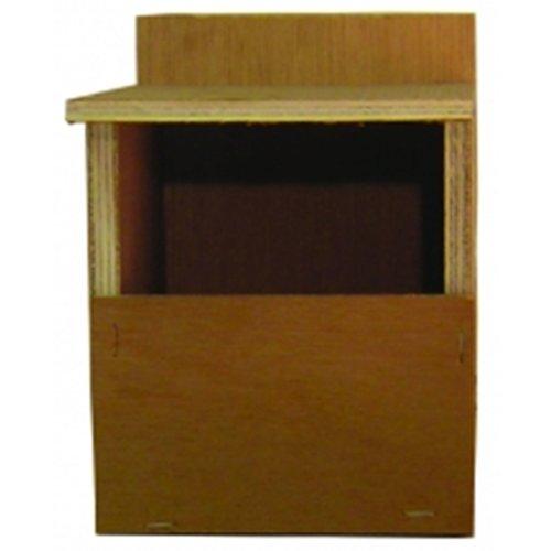 Wooden Finch Nest Box, W 10 x H 13 cm