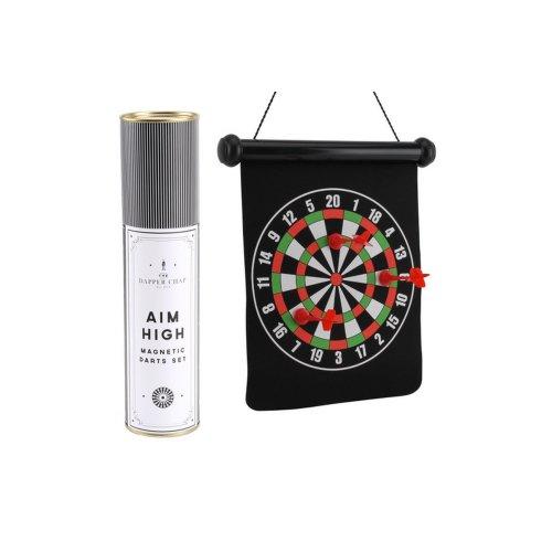 CGB Giftware Dapper Chap Aim High Magnetic Dartboard Set