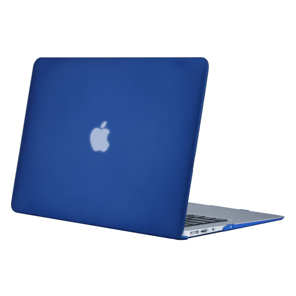cheap for discount 91a80 965ff MOSISO Ultra Slim Plastic Hard Shell Snap On Case Cover for MacBook Air 13  Inch (A1466 & A1369), Royal Blue