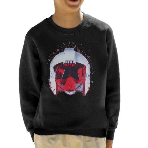 Original Stormtrooper Rebel Pilot Helmet Shatter Effect Kid's Sweatshirt