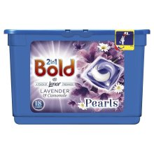 Bold 2-in-1 Pearls Washing Capsules Lavender & Camomile Lenor Fresh - 18 Washes