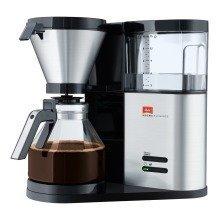 Melitta 1012-01 Aroma Elegance Coffee Filter Machine - Black/stainless Steel