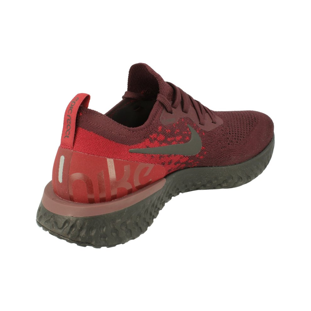879d3d62b617e Nike Epic React Flyknit Mens Running Trainers At0054 Sneakers Shoes