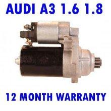 Audi a3 1.6 1.8 hatchback 1996 1997 1998 1999 2000 - 2003 starter motor