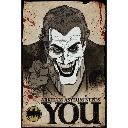 Batman Comic Joker Needs You