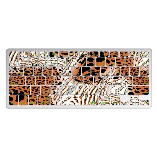 "1 Piece MacBook Pro 13"" Keyboard Sticker Decal Keyboard Skin, Tiger Stripes"
