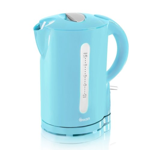 Swan Cordless Blue Kettle 1.7L | Electric Jug Kettle