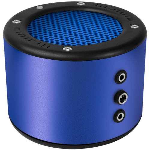 MINIRIG 2 Portable Rechargeable Bluetooth Speaker - 80 Hour Battery - Premium Stereo Sound - Blue