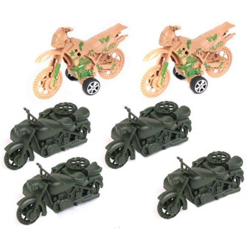 Soldier Scene Models Little Soldier Car Models Children's Toy Accessories #7